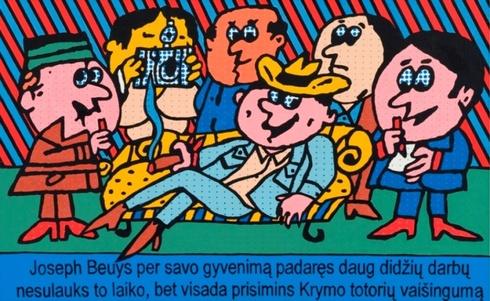 Tikra istorija apie Joseph Beuys Nr. 25 (Joseph Beuys per savo gyvenimą padaręs daug didžių darbų, nesulauks to laiko, bet visada prisimins Krymo totorių vaišingumą)