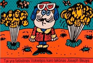 Tikra istorija apie Joseph Beuys Nr. 3 (Tai yra fašistinės Vokietijos karo lakūnas Joseph Beuys)