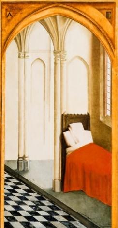Miegamasis. Pagal Rogier van der Weyden