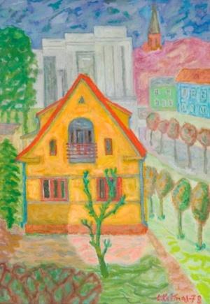 Geltonas namas Palangoje
