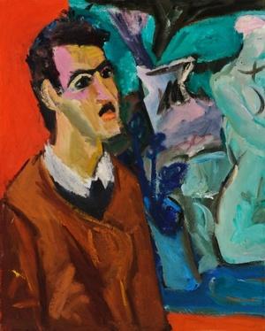 Portrait of the Artist R. Čarna