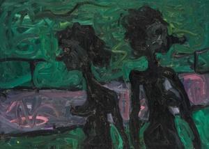 Menotyrininkė ir tapytoja