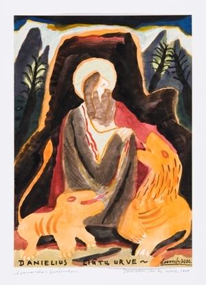 Danielius liūtų narve