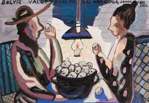 Bulvių valgytojai pagal Van Gogą