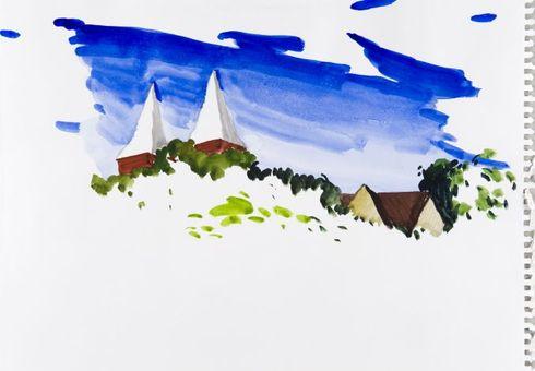 Lietuviškas peizažas. Balininkai