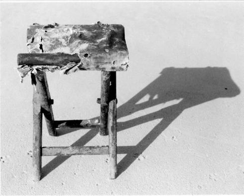 """Kėdė. Iš ciklo """"Daiktai iš jūros"""""""