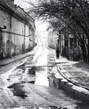 Malūnų gatvė pavasarį