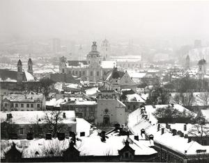 Senamiesčio panorama su Aušros Vartais II. Vilnius
