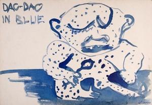 "Iš ciklo ""Dao-dao in blue"""