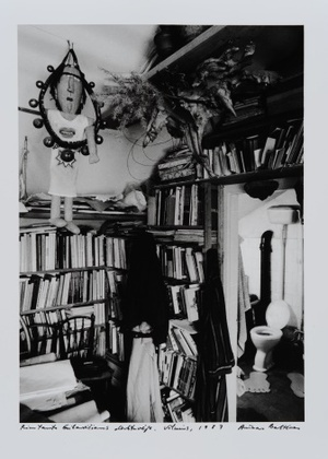 Rimtauto Gibavičiaus in his studio. Vilnius