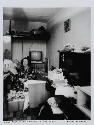Dinos Portnovaitės in his home. Vilnius