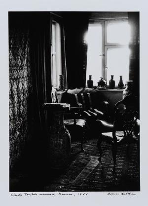 Liudo Truikio in his home. Kaunas