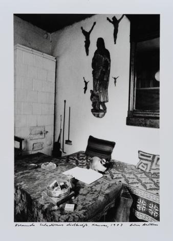 Edmundo Saladžiaus in his studio. Kaunas