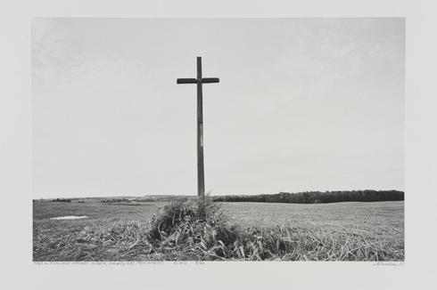 """1863 m. sukilimui atminti. Gubėsa, Molėtų r. Iš ciklo """"Tolių vaizdai"""""""