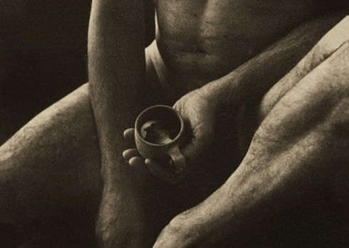 """Face in the cup of coffee. om cycle """"Woman about Men"""""""