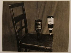 Chair and Bottles