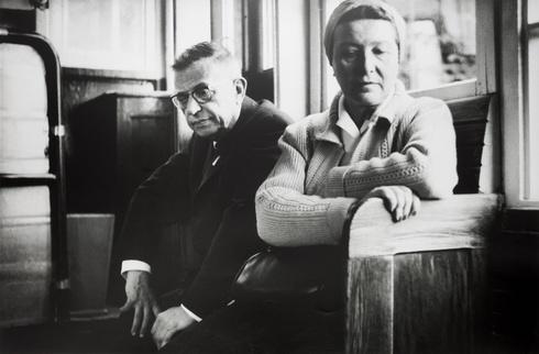 J. P. Sartre ir S. de Beauvoir Lietuvoje. Kaunas