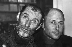 "A. Andriuškevičius and R. Antinis (From the series ""Artists and Photographers"")"