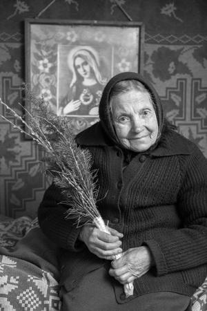 Elena Vaičiulytė Augulienė. Rimdžiūnai. Gervėčių Region, Byelorussia.