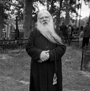 Priest Of Rokiškis Aleksandras Kudriašovas At Stirniškis Cemetary