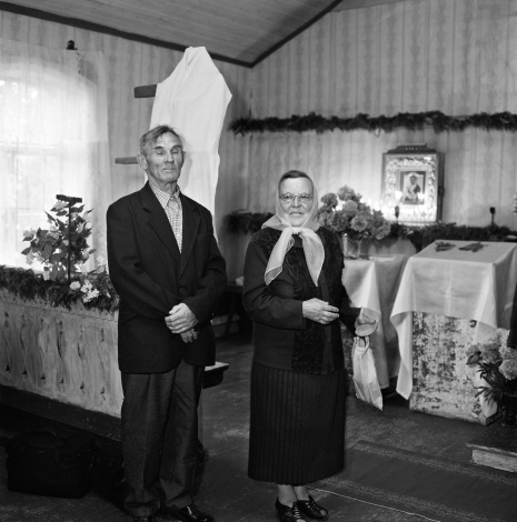 Stanislava And Venalijus Novokovai At Bobriškis Praying House Of Old Believers.
