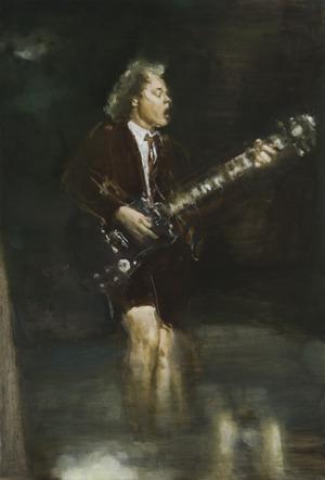Angus Young. Nutapytas vasario 30 d.