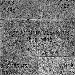 Inskripcijos sovietinių represijų aukoms atminti
