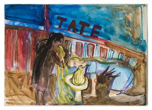 """Kaip Cooltūristės kartojo Šaltenio moters vėmimą po daugybės metų, tačiau vis tiek nepakliuvo į Tate modern su paroda. Iš begalinės serijos """"Lietuvos dailės istorija paveikslėliuose"""""""