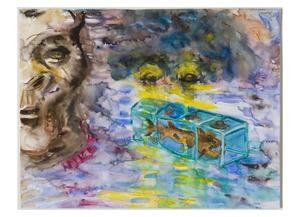 """Kaip MKČ akių šviesoje Duonio gorila užuodė formaldehido su užkonservuotu rykliu kvapą. Iš begalinės serijos """"Lietuvos dailės istorija paveikslėliuose"""""""