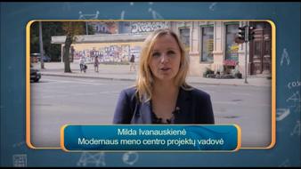 """Vilniaus kalbančios skulptūros laidoje """"Lietuvos tūkstantmečio vaikai"""""""
