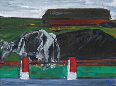 Roadside Cow