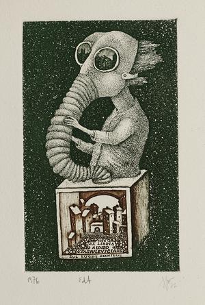 Aloyzo Stasiulevičiaus ex libris
