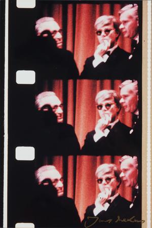 """Andy Warholas psichiatrų suvažiavime, pirmajame rokenrolo grupės """"Velvet Underground"""" pasirodyme, Niujorke"""
