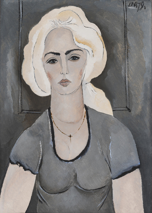 Sidabrinis ponios Jankauskienės portretas