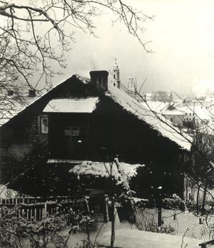 Žiema senamiestyje